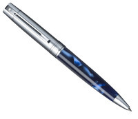 Фото Шариковая ручка Sheaffer Gift Collection 300 Chrome/Perle Blue CT BP Sh931625