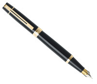 Фото Перьевая ручка Sheaffer Gift Collection 300  Glossy Black GT   FP M Sh932504